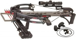 Darton Toxin 135 XT Crossbow Package, Carbon Black