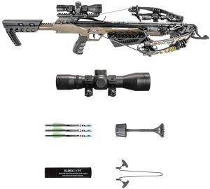 Killer Instinct MSCKI-1001 Rush 380 fps Crossbow Bow Pro Package