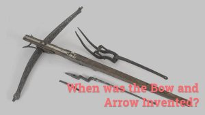 when was the bow and arrow invented