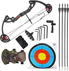 AMEYXGS Youth Compound Bow Set