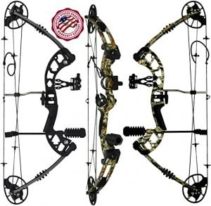 Predator Archery Raptor Compound Hunting Bow Kit