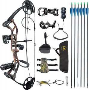 Topoint M2 Youth Compound Bow Package