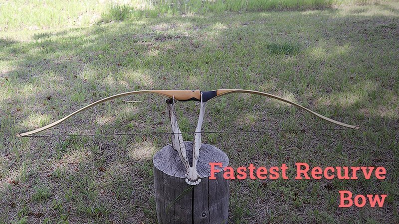 fastest recurve bow
