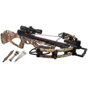 Parker Tornado XXT Xtreme Illuminate MultiReticle Scope Crossbow Package