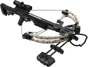 Centerpoint AXCS185BK Sniper 370 Crossbow Package